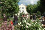 Foire aux fleurs devant la Mairie