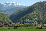 Le massif de Belledonne et la station de Chamrousse